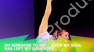 Dance Moms-Cry Lyrics-Short Version