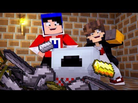 Minecraft: ANIMALIA  - MAQUINA QUE CRIA ITENS - ‹ JUAUM › #04