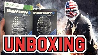 Payday 2 Safecracker Edition (PS3 / Xbox 360) Unboxing !!