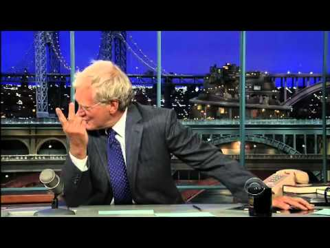 Ellen Does the Top Ten with David Letterman!