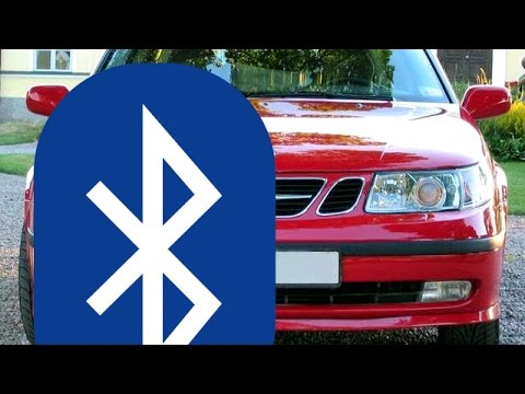 DIY Bluetooth Audio Aux For Saab 9-3 and 9-5 - Trionic Seven - YouTube