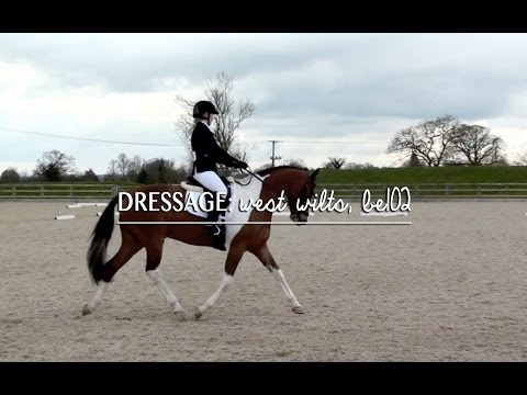 BE106 Dressage Test @ West Wilts.