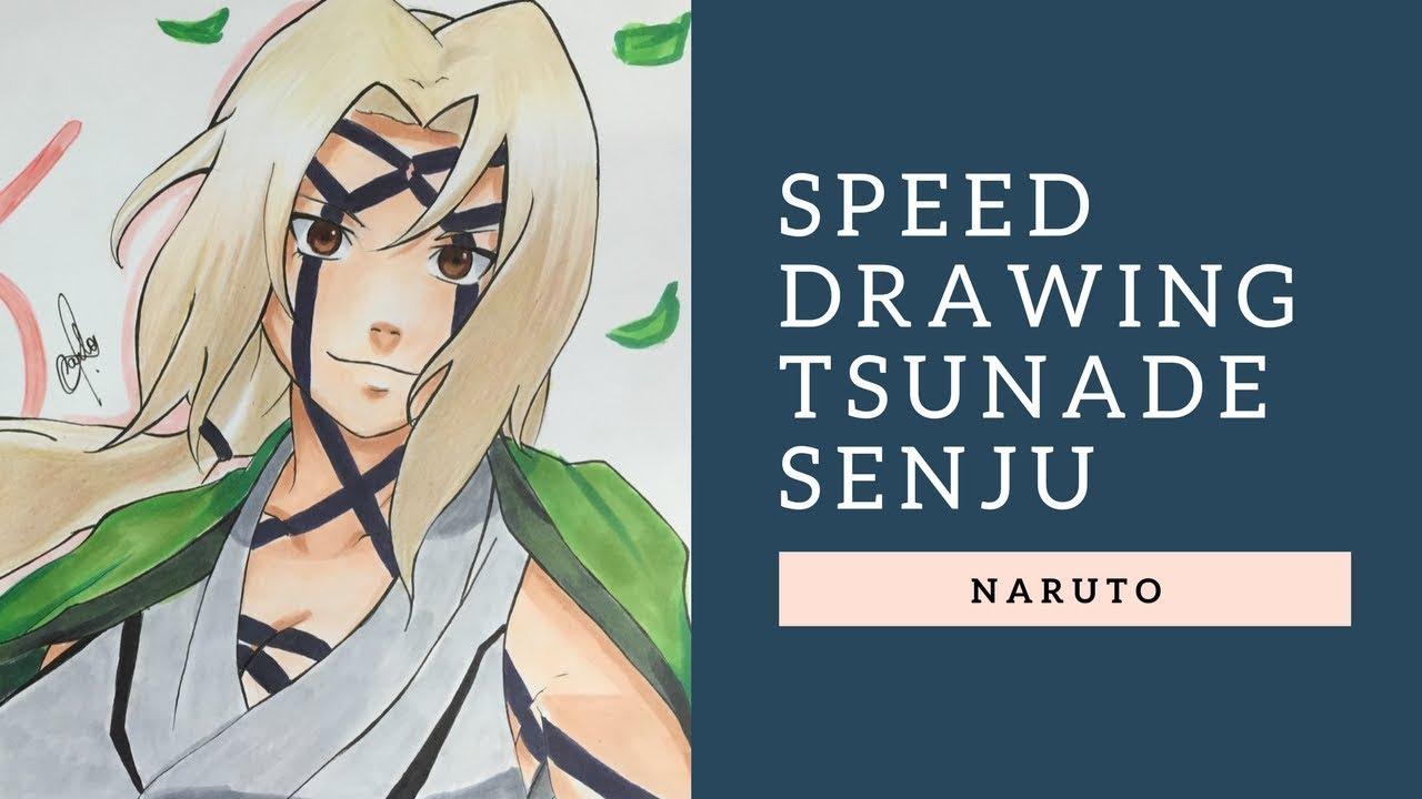 Speed Draiwng Tsunade Senju Th Hokage Naruto Collab