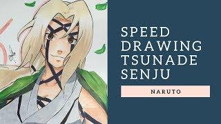 Speed Draiwng - Tsunade Senju, 5th Hokage [ Naruto ] COLLAB