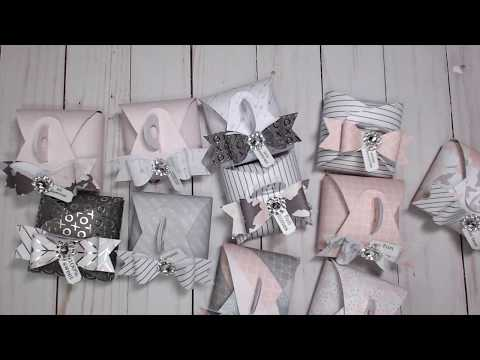 {BEST OF | FAVORITES} CRAFT FAIR SERIES | TUTORIAL | EPISODE #13| BON BON | GABLE BOXES
