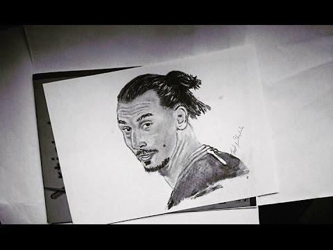 Zlatan Ibrahimovic Pencil Drawing