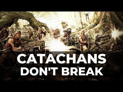 CATACHANS TAKE ON THE T'AU! - Warhammer 40k