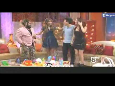 #VIDEO @DulceMaria en el programa @ElDiablitoShow [Parte 2]