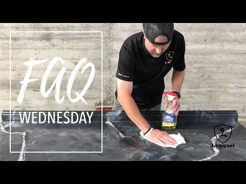 FAQ Wednesday: How To Clean Your Epoxy Countertops