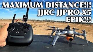 maximum Distance Test - JJRC JJPRO X5 EPIK RC Quadcopter RTF