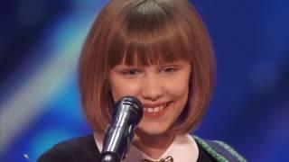 У девочки самый необычный голос в мире! Такая маленькая а такой талант