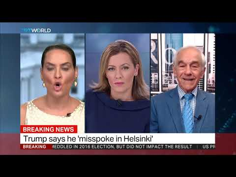 Ron Paul & Bassima Alghusseini debate Trump's Finnish flop
