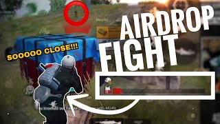Too many squads want my AIRDROP! - PUBG MOBILE