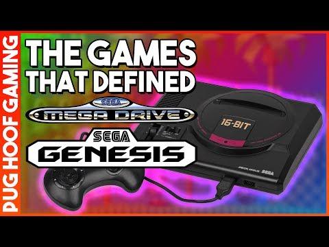Five Games That Defined The SEGA Genesis / SEGA Mega Drive - The Games That Made The SEGA Genesis!