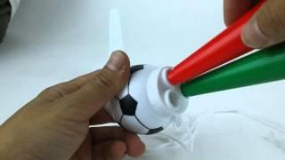 Soccer Blow Air Horn Noise Maker @ de GROUP Inc.