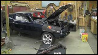 Episode 2 Part 1 1967 Mustang Borgeson power steering box Autorestomod.f4v