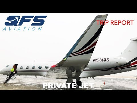 TRIP REPORT | NetJets - Gulfstream G550 - Rome (CIA) to White Plains (HPN)