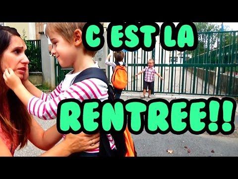 C'est la RENTRÉE! BACK TO SCHOOL! - Angie la Crazy Série