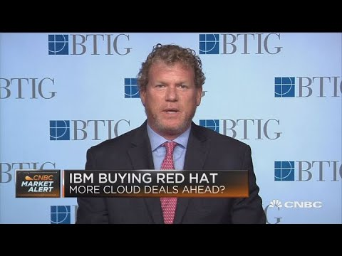 BTIG's Fishbein on cloud companies targeted for takeover