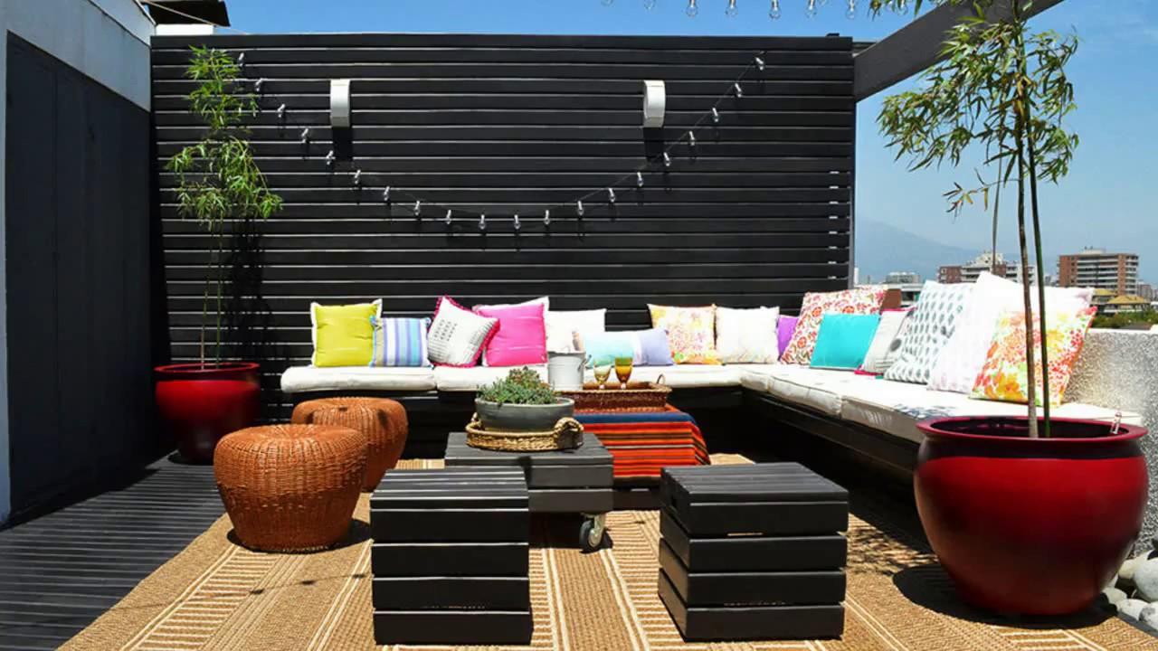Ideas para decorar y convertir azoteas en terrazas y for Ideas para decorar antejardin