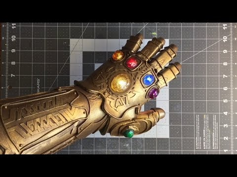 Making the INFINITY GAUNTLET!  V2