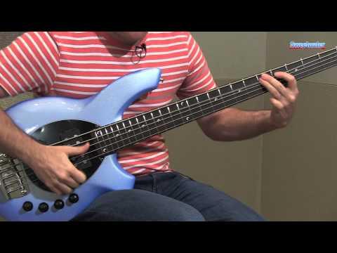 Music Man Bongo 5 HH Electric Bass Guitar Demo - Sweetwater Sound