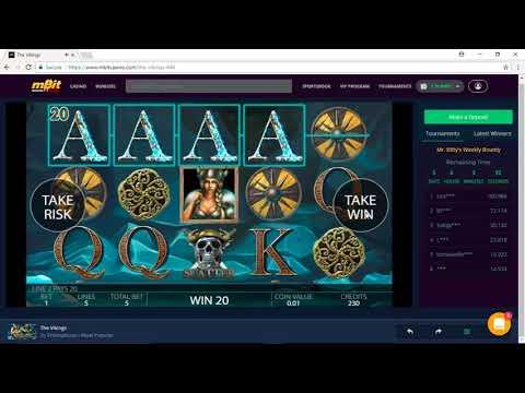 Playing Bitcoin Slots at mBit