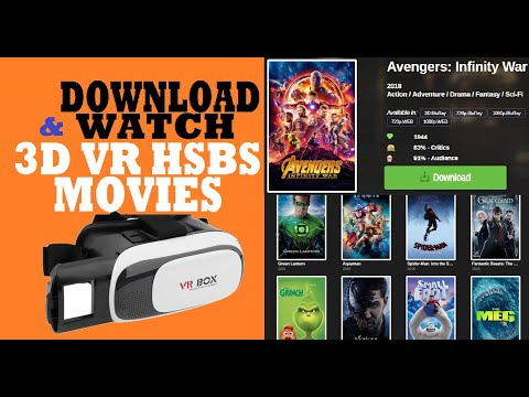 3D VR HSBS Movies- How To Download & Watch For Free? [in HINDI]   #TechnicalPanditG #TPG