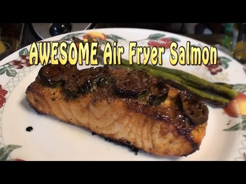 man-cooking:-awesome-air-fryer-salmon