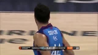 19.03.2019 / Anadolu Efes - CSKA Moskova / Krunoslav Simon