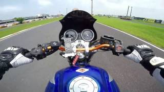 CB400 SF race track practice (2016/08/06) part2