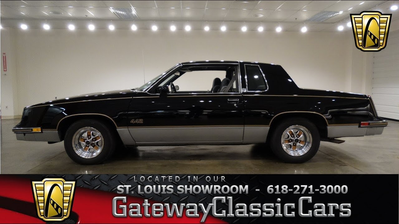 1986 oldsmobile cutlass 442 stock 6667 gateway classic cars st louis showroom youtube