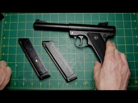 Lazouche Custom Airsoft Kjw Ruger Mk 1 Nbb Pistol Review Youtube