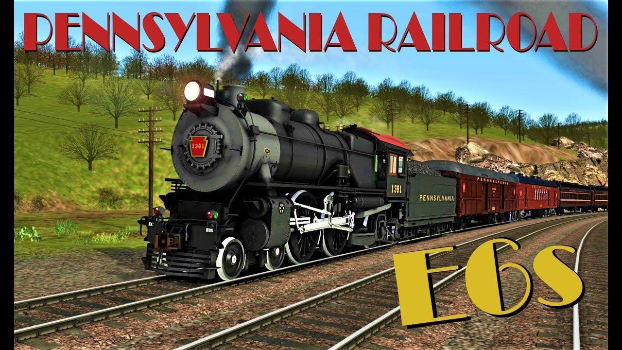[New Freeware!] Pennsylvania Railroad E6s 4-4-2 Atlantic by DSGDDR (Darlan Gomes) for TS2020