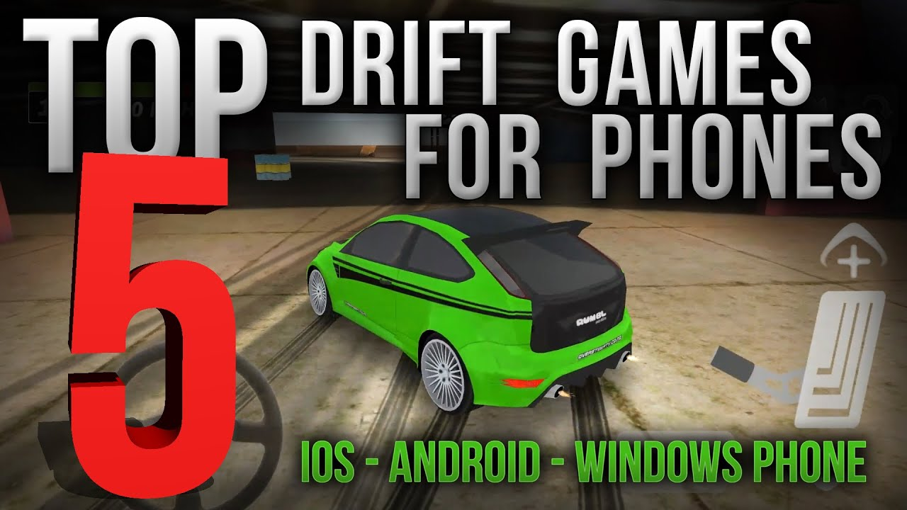 top 5 android phone games