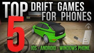 Drift Games for Mobile Phones (Android, iPhone) - My TOP 5