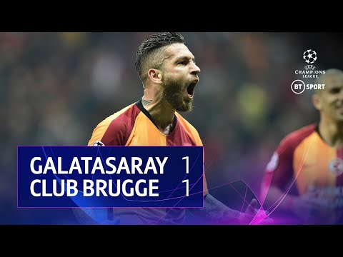 Galatasaray vs Club Brugge (1-1) | UEFA Champions League Highlights