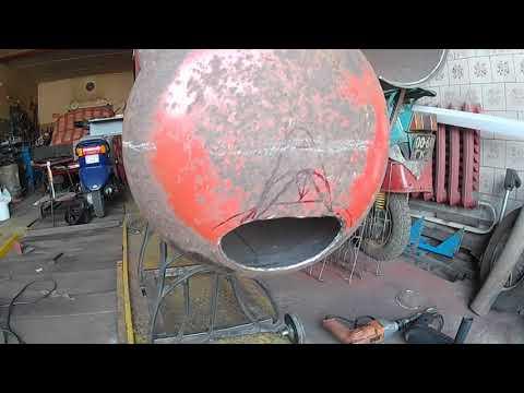 Супер гриль+смокер+мангал из газовых баллонов. Своими руками. Часть 4 /GRILL+SMOKER HAND MADE