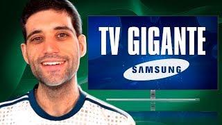 A MAIOR e MELHOR TV para GAMES! - Samsung QLED TV