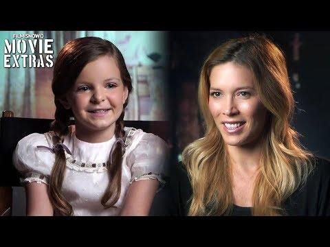 Annabelle: Creation | On-set visit with Samara Lee 'Bee Mullins' & Alicia Vela-Bailey 'Evil Mullins'