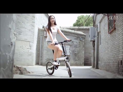 Quảng cao xe đạp điện Xiaomi Mi Bike Mijia Qicycle