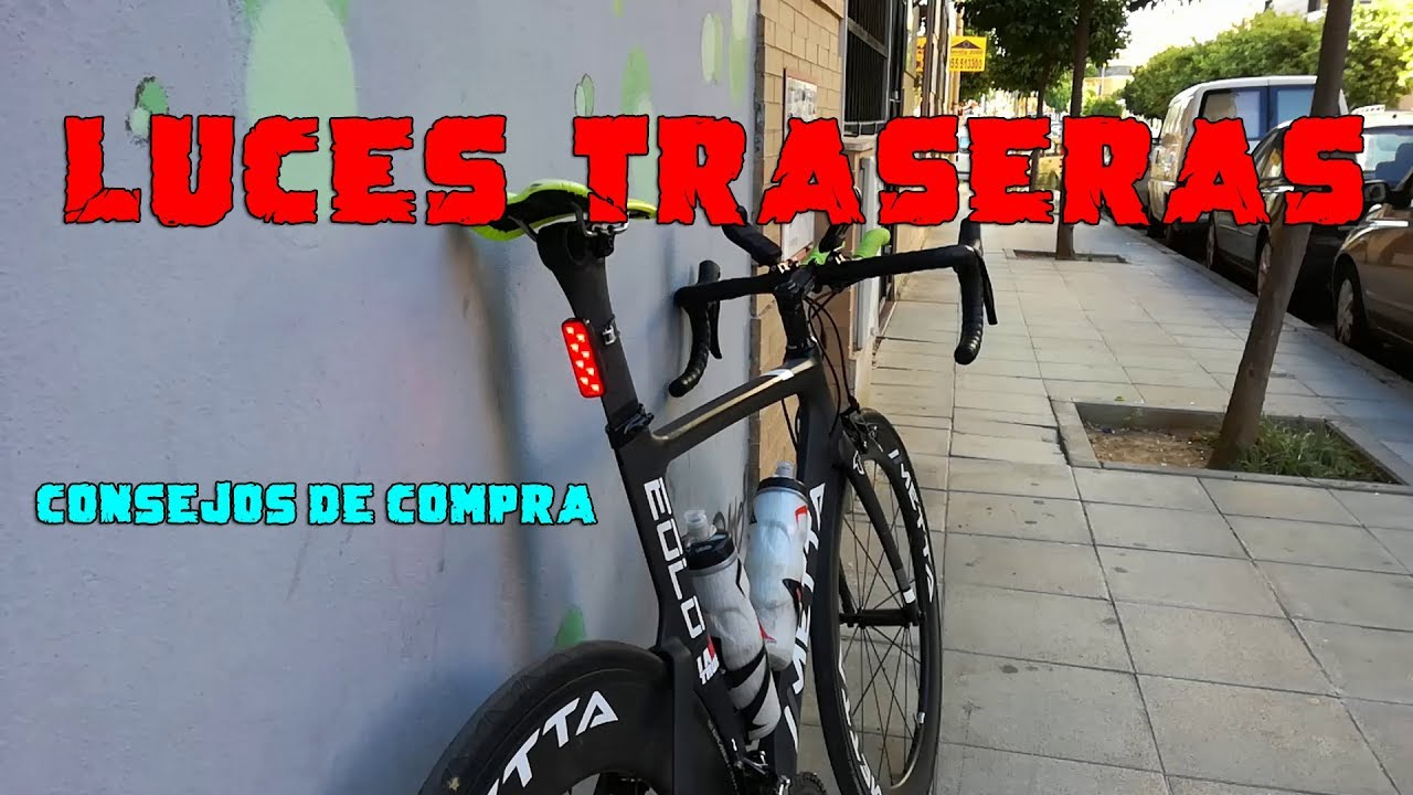 acdb7762a Luces traseras para ciclismo