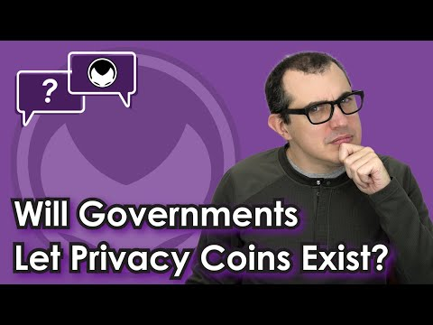 Bitcoin Q&A: Will Governments Let Privacy Coins Exist?