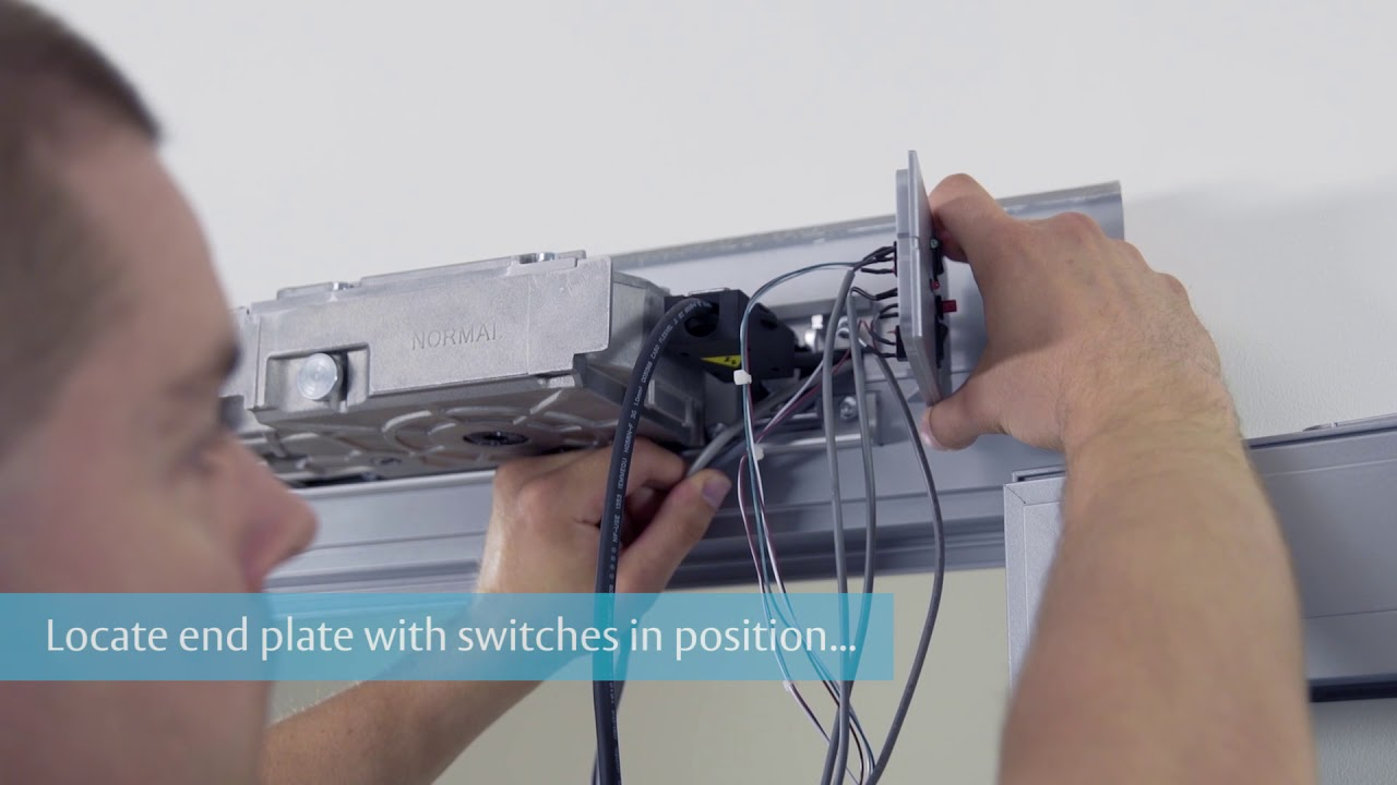 assa abloy da4400 door automatic installation guide [ 1280 x 720 Pixel ]