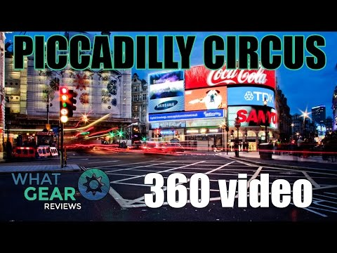 Piccadilly Circus London - 360 Video