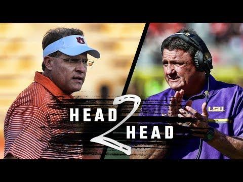 Head to Head: Auburn vs LSU