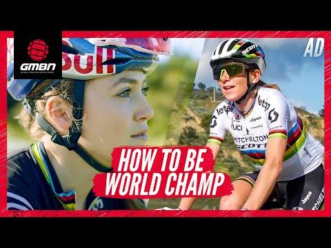 What Does It Take To Be A World Champion Cyclist? | Blake Vs. Kate Courtney Vs. Annemiek Van Vleuten