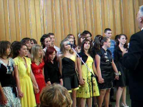 '94-es generáció ballagási éneke Szenttamás 2009.06.12.