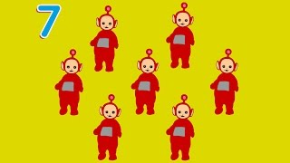 Teletubbies - Count the Numbers