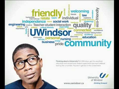 Local radio Advertisement, University of Windsor